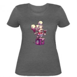 Женская футболка Harley Quinn1