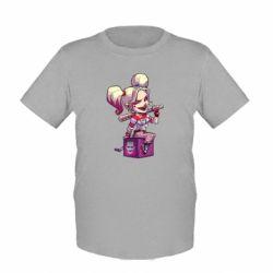 Детская футболка Harley Quinn1