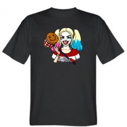 Чоловіча футболка Харлі Квінн