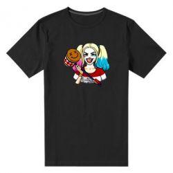 Купить LIMSIT, Мужская стрейчевая футболка Харли Квинн, FatLine