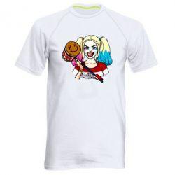Чоловіча спортивна футболка Харлі Квінн