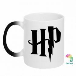 Кружка-хамелеон Harry Potter logo 1