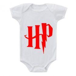 Дитячий бодік Harry Potter logo 1