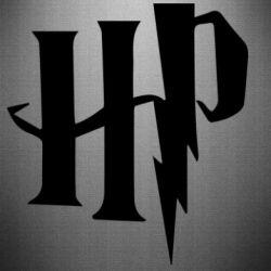 Наклейка Harry Potter logo 1