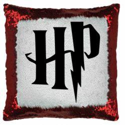 Подушка-хамелеон Harry Potter logo 1