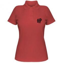 Жіноча футболка поло Harry Potter logo 1