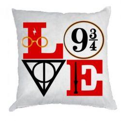 Подушка Harry Potter love