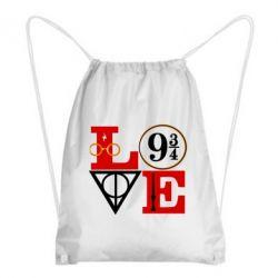 Рюкзак-мішок Harry Potter love