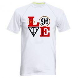 Чоловіча спортивна футболка Harry Potter love