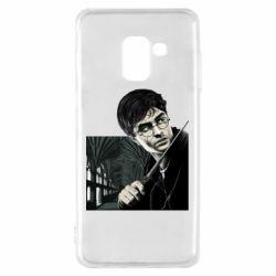 Чехол для Samsung A8 2018 Harry Potter