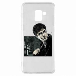 Чехол для Samsung A8+ 2018 Harry Potter
