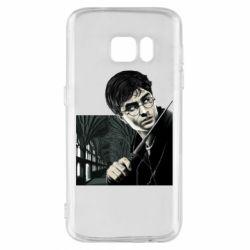 Чехол для Samsung S7 Harry Potter