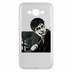 Чехол для Samsung J7 2015 Harry Potter
