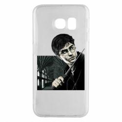 Чехол для Samsung S6 EDGE Harry Potter