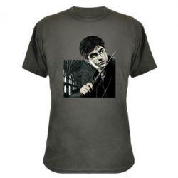 Камуфляжная футболка Harry Potter