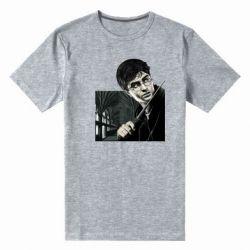 Мужская стрейчевая футболка Harry Potter