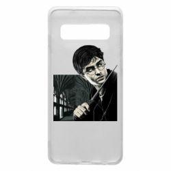 Чехол для Samsung S10 Harry Potter