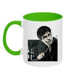Кружка двухцветная 320ml Harry Potter