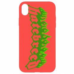 Чехол для iPhone XR Hatebreed