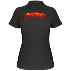 Женская футболка поло Hatebreed - FatLine