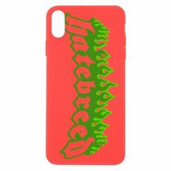 Чехол для iPhone X/Xs Hatebreed