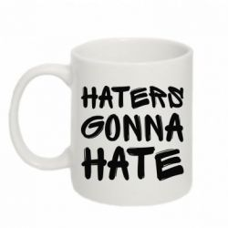 Кружка 320ml Haters gonna hate