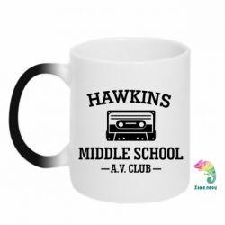 Кружка-хамелеон Hawkins middle school
