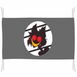 Флаг Hazbin hotel Alastor
