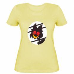 Женская футболка Hazbin hotel Alastor