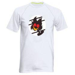 Мужская спортивная футболка Hazbin hotel Alastor
