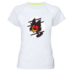 Женская спортивная футболка Hazbin hotel Alastor