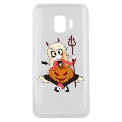 Чехол для Samsung J2 Core Hazbin Hotel Charlie and pumpkin