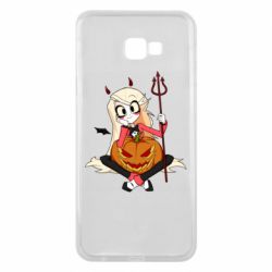 Чехол для Samsung J4 Plus 2018 Hazbin Hotel Charlie and pumpkin
