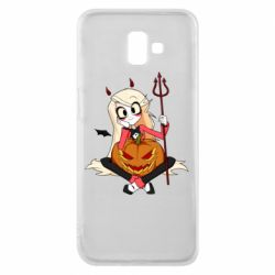 Чехол для Samsung J6 Plus 2018 Hazbin Hotel Charlie and pumpkin