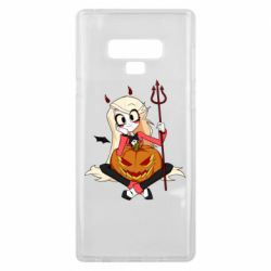 Чехол для Samsung Note 9 Hazbin Hotel Charlie and pumpkin