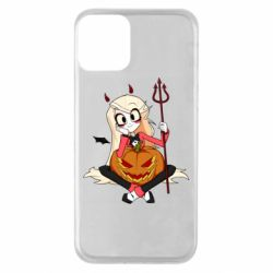 Чехол для iPhone 11 Hazbin Hotel Charlie and pumpkin