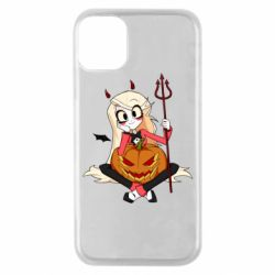 Чехол для iPhone 11 Pro Hazbin Hotel Charlie and pumpkin