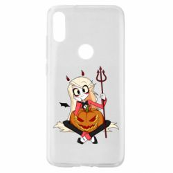 Чехол для Xiaomi Mi Play Hazbin Hotel Charlie and pumpkin