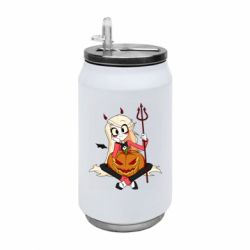 Термобанка 350ml Hazbin Hotel Charlie and pumpkin