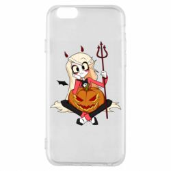 Чехол для iPhone 6/6S Hazbin Hotel Charlie and pumpkin