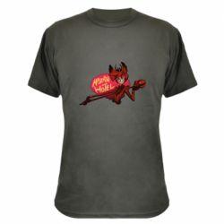Камуфляжная футболка Hazbin Hotel