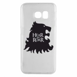 Чехол для Samsung S6 EDGE Hear Me Roar