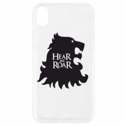 Чехол для iPhone XR Hear Me Roar
