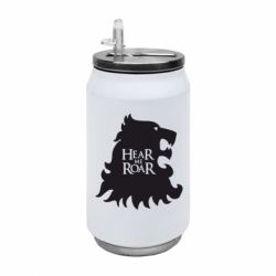 Термобанка 350ml Hear Me Roar