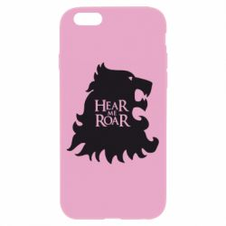 Чехол для iPhone 6/6S Hear Me Roar