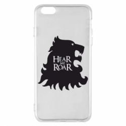 Чехол для iPhone 6 Plus/6S Plus Hear Me Roar