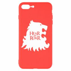 Чехол для iPhone 8 Plus Hear Me Roar