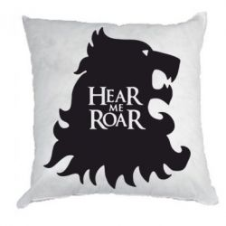 Подушка Hear Me Roar - FatLine