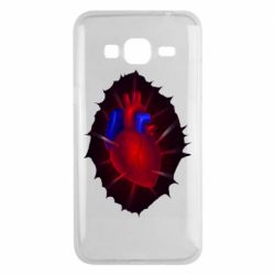 Чехол для Samsung J3 2016 Heart and blood vessels
