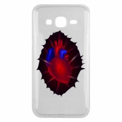 Чехол для Samsung J5 2015 Heart and blood vessels